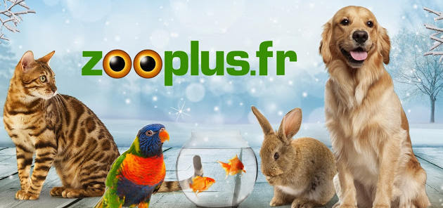 Banner of Zooplus.